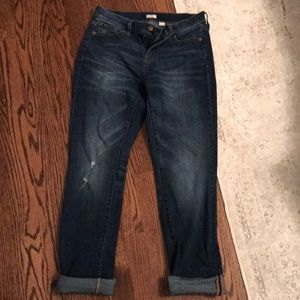 J. Crew stretch denim boyfriend jean sz 4 6 26